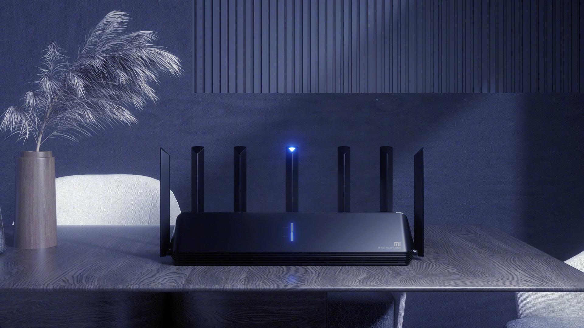 Xiaomi WiFi 6 router comparison AX9000, AX6000, AX3600
