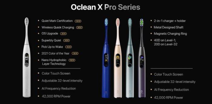 Oclean X Pro Series