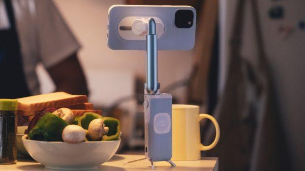 Cardan pour smartphone PowerVision S1 avec fonction de chargement sans fil