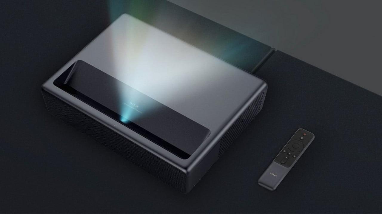 XIAOMI Ecosystem WEMAX ONE Ультра-короткий лазерный проектор 5500 ANSI Lumens 4K 150 Inch ALPD3.0 bluetooth-проектор