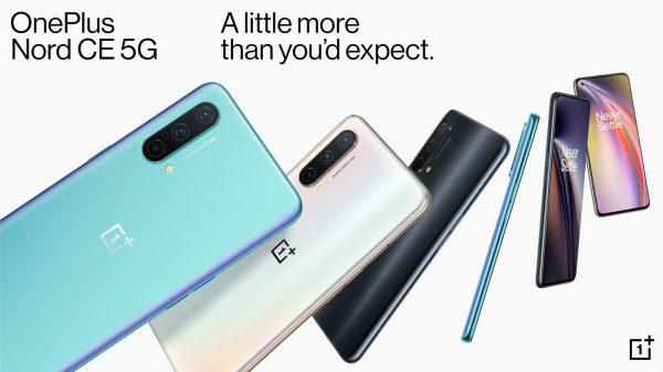 כותרת לטלפון חכם OnePlus Nord CE 5G
