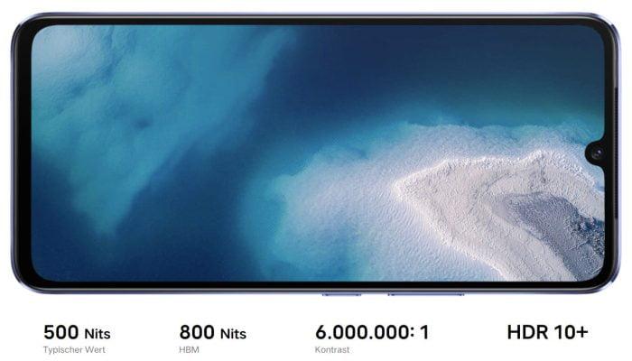 vivo V21 5G 90 Hz AMOLED