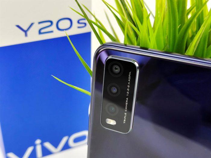 vivo Y20s camera-instelling