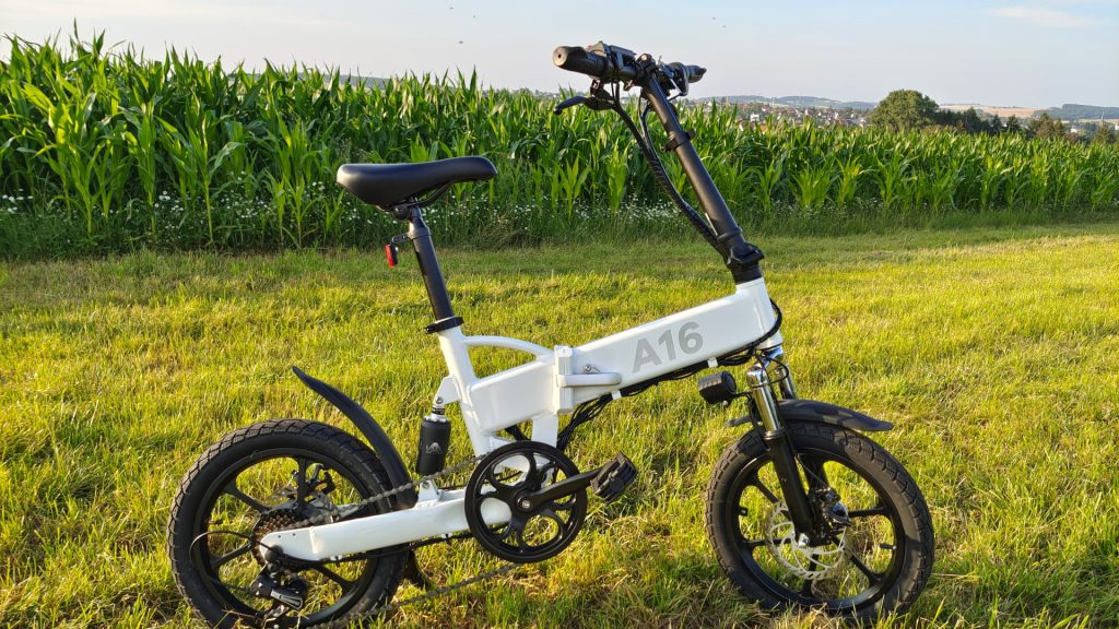 Test recenzji roweru elektrycznego ADO A16 składany E-Bike