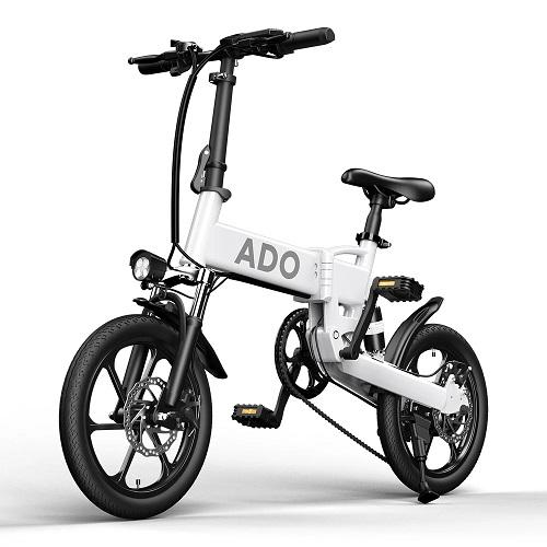 ADO A16 250W 36V 7.8Ah 16-calowy rower elektryczny 25km / h Maksymalna prędkość 70Km Zasięg