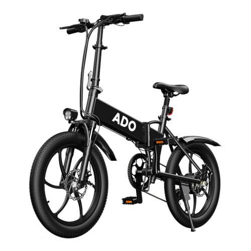 ADO A20 Até 350W 36V 10.4Ah 20 polegadas Bicicleta Elétrica 25km / h Velocidade Máxima 80Km Quilometragem 120Kg Carga Máxima Quadro Grande Bicicleta Elétrica Liberável Velocidade Máxima