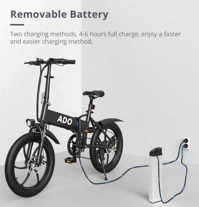 Bateria substituível ADO A20