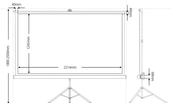 BlitzWolf BW-VS1 Dimensions Dimensions
