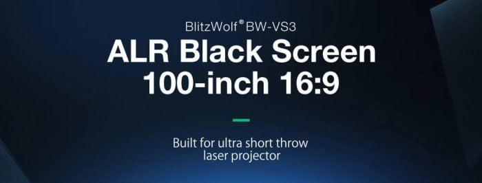 BlitzWolf ARL Beamer projection screen