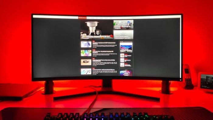Govee Smart LED Lightbar vermelho brilhante
