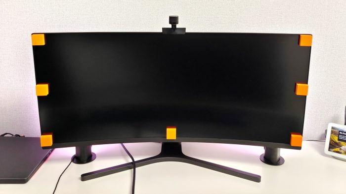 Calibração do monitor de barra de luz LED inteligente Govee