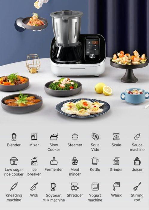 TOKIT Omni Cook 21 Geräte in Einem