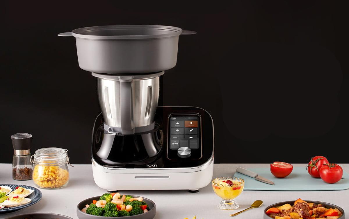 TOKIT Omni Cook Multifunktions Küchenmaschine