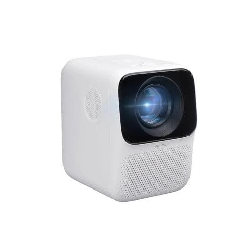 XIAOMI Wanbo T2MAX 1080P Mini LED Προβολέας WIFI Σύστημα Android 200ANSI Τηλέφωνο Ίδια οθόνη Πολύ Γλώσσα Κάθετο Διόρθωση Keystone Φορητός κινηματογράφος Οικιακός κινηματογράφος Εξωτερική ταινία