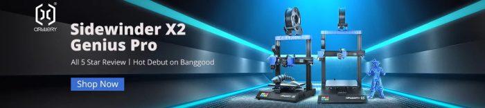 Compre Artillery Sidewinder X2 barato em Banggood.