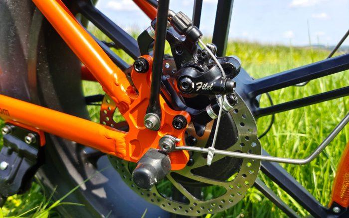 Zmiana biegów w rowerze elektrycznym ENGWE EP-2 Pro