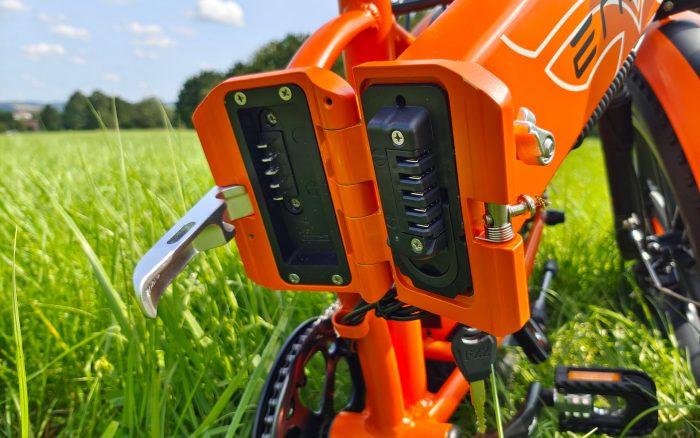 Mechanizm składania e-roweru ENGWE EP-2 Pro