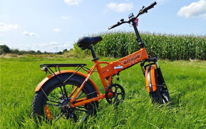 Rozłożony e-rower ENGWE EP-2 Pro