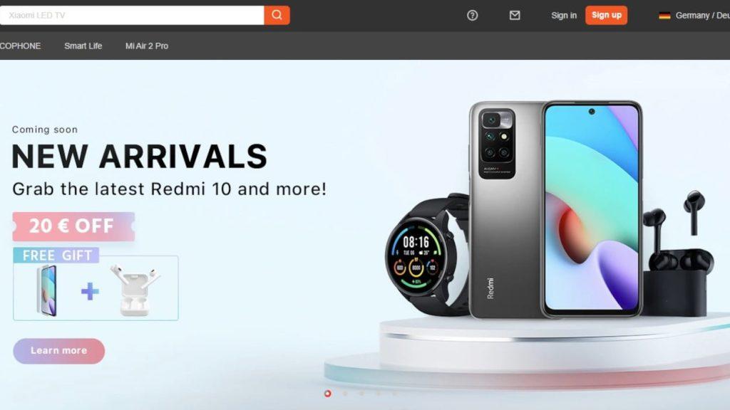 Goboo Xiaomi Shop Online Coupon List