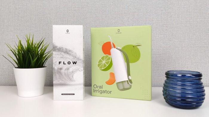 Oclean Flow och Oclean W10 förpackning