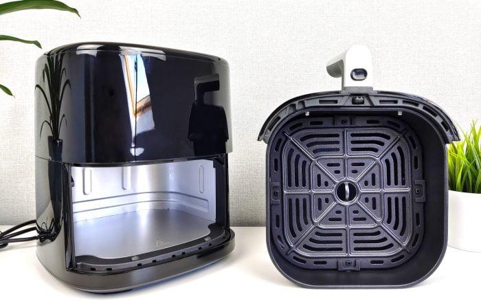 Horkovzdušná fritéza BlitzHome BH-AF2 s varným košíkem a mřížkou