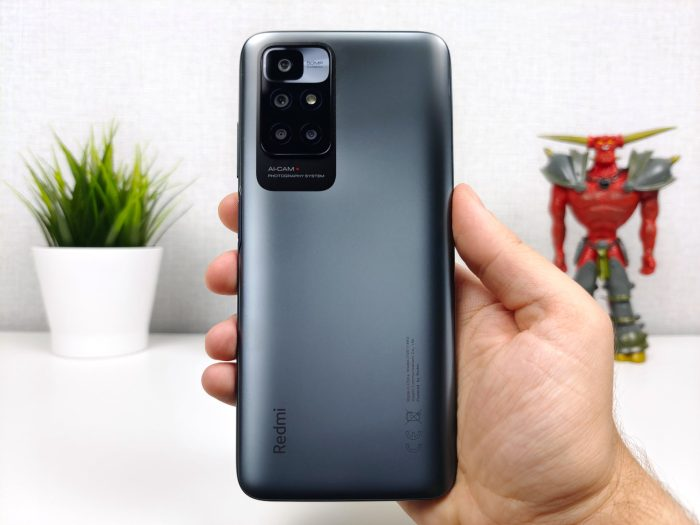Redmi 10 de volta para smartphone