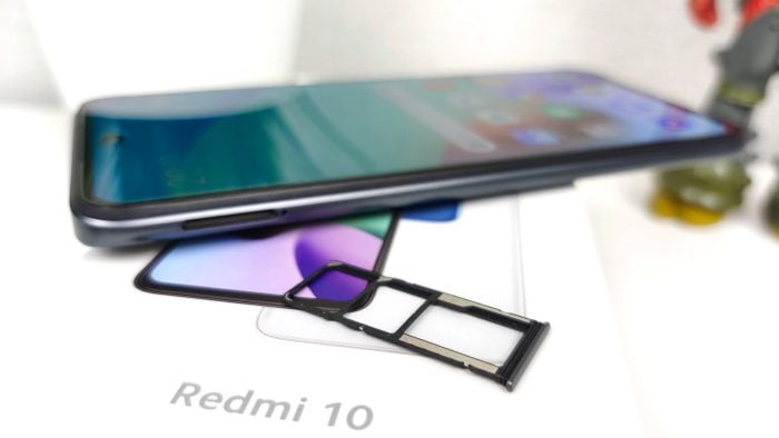 Slot dual SIM Redmi 10