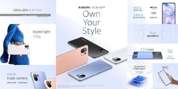 מבחן פונקציות Xiaomi 11 Lite 5G NE
