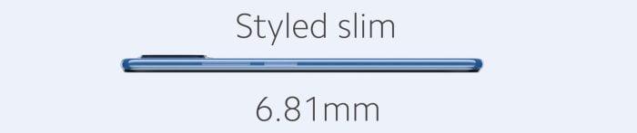Xiaomi 11 Lite 5G דק במיוחד