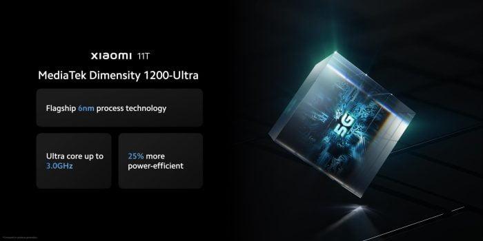 Xiaomi 11T MediaTek Dimensity 1200 Ultra