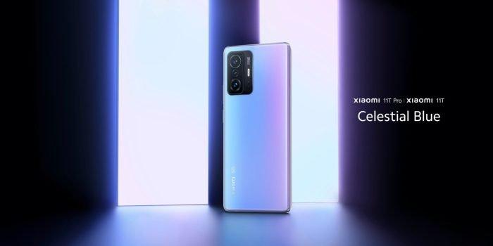 Xiaomi 11T Pro בכחול שמימי