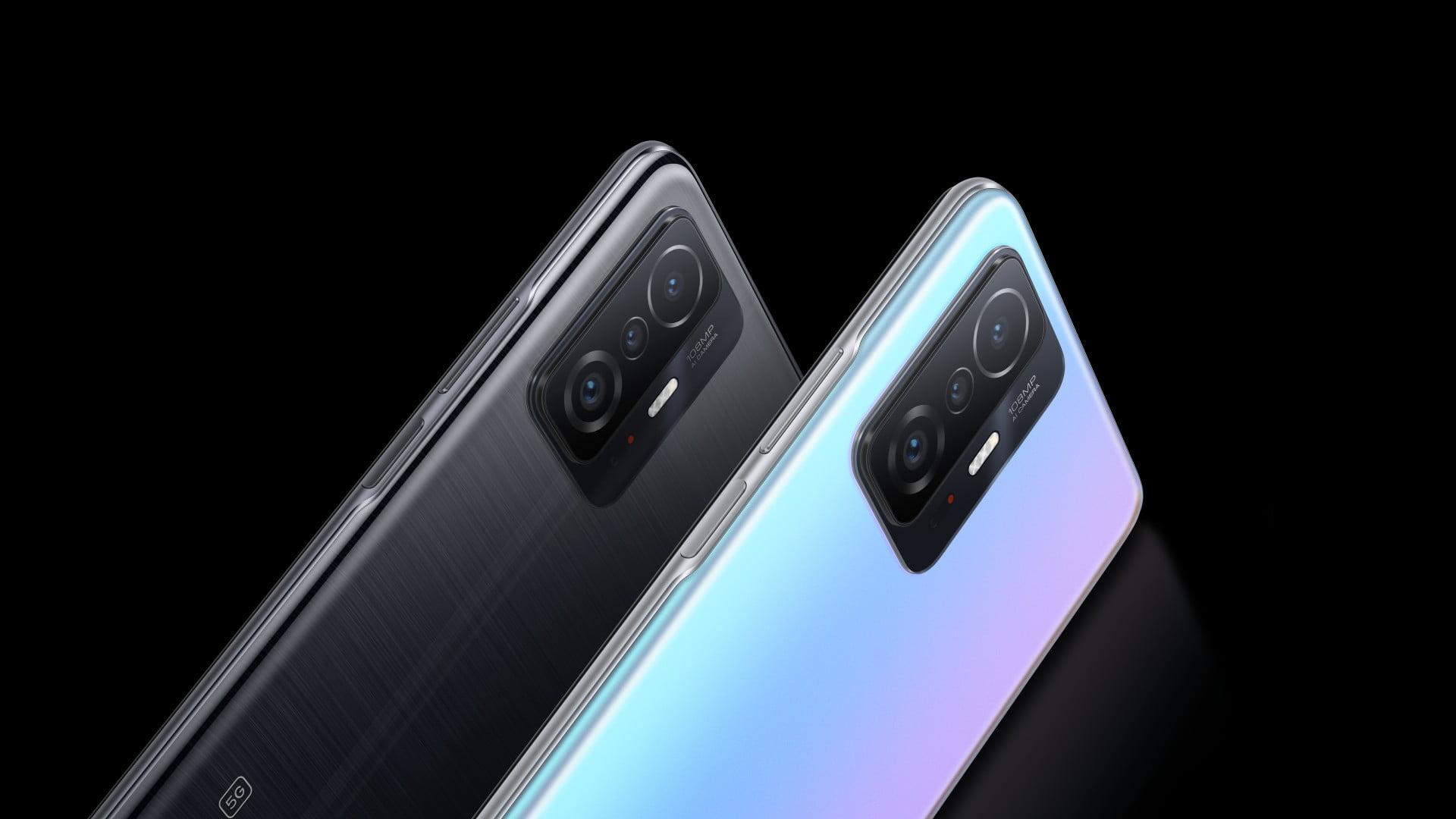 חדשות: סדרת Xiaomi 11T עם Xiaomi 11T Pro ו- Xiaomi 11T