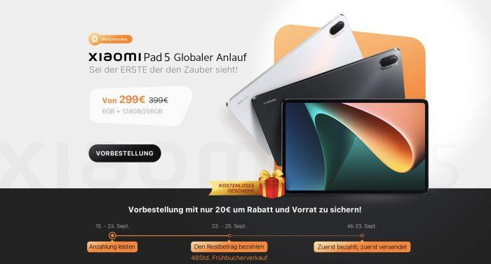 Αγοράστε Xiaomi Pad 5 φθηνά στο Goboo.