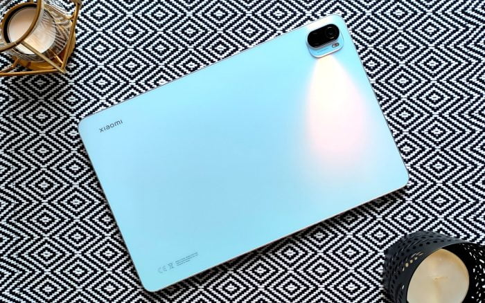 Το πίσω μέρος του tablet.